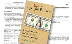 Open Source for Business.  Author Heather Meeker